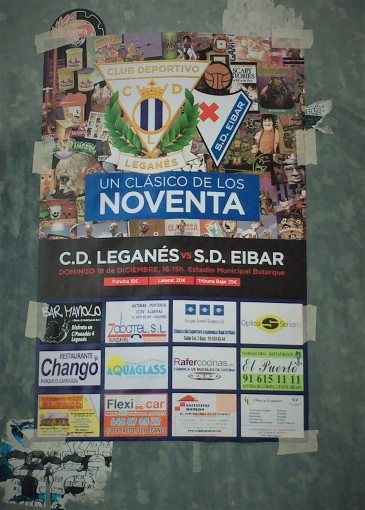 Leganes sell the fixture as a blast from the past